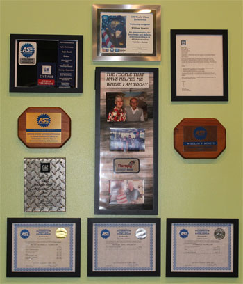 Crank-N-Go Automotive | Award Wall | 1100 E Ganson St, Jackson MI 49201 | 517-783-2364